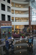 CHEC Atrium With Students