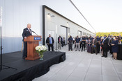 Technical Campus ribbon cutting